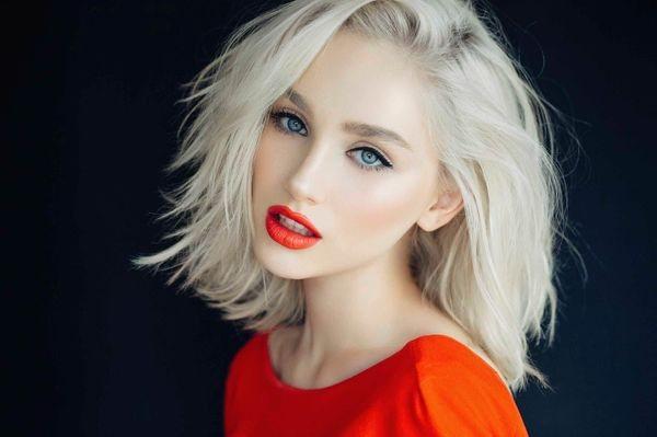 блонд зима