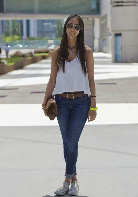 блузки с джинсами фото