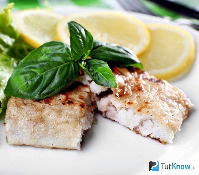 Блюда из рыбы для подтяжки обвисшей груди