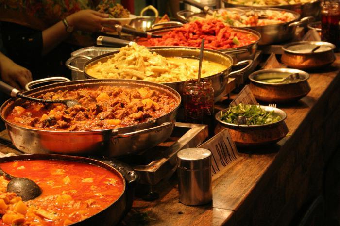 блюдо карри