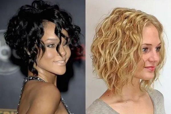 боб эффект мокрых волос