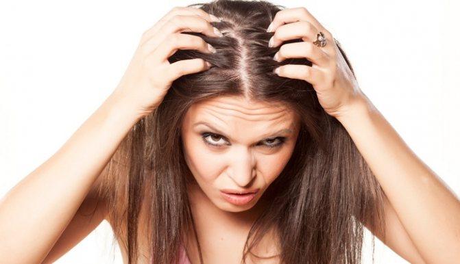 Болит кожа головы