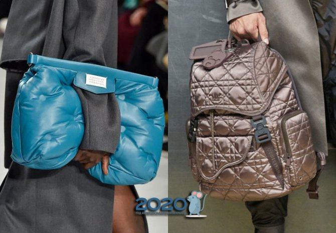 Большие стеганые сумки на 2020 год
