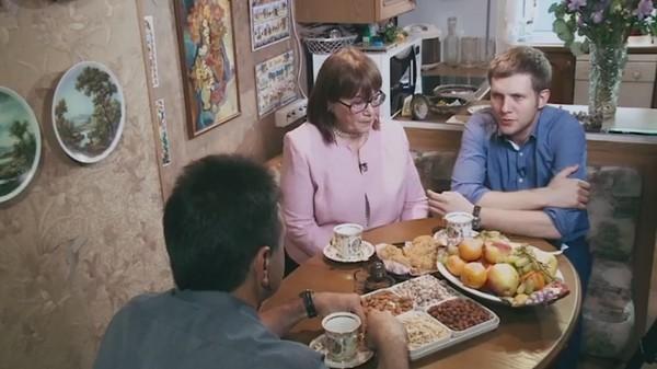 Борис Корчевников с мамой