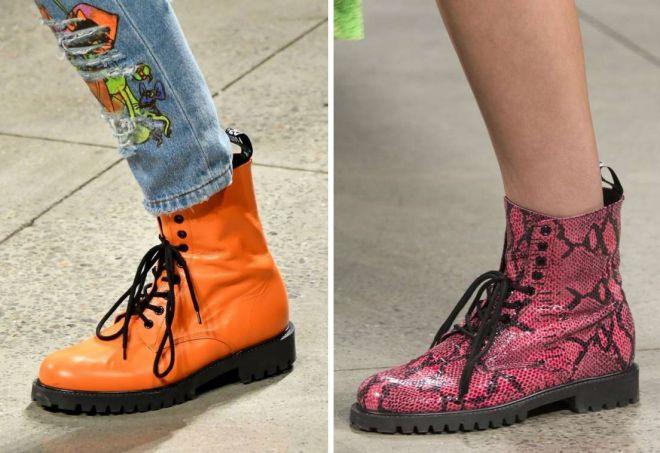 ботинки 2020 года модные тенденции