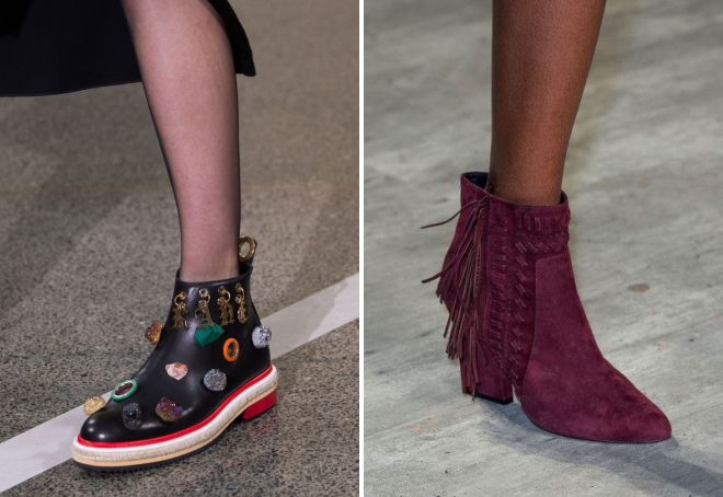 ботинки 2018