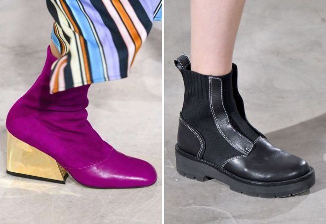 ботинки весна 2018