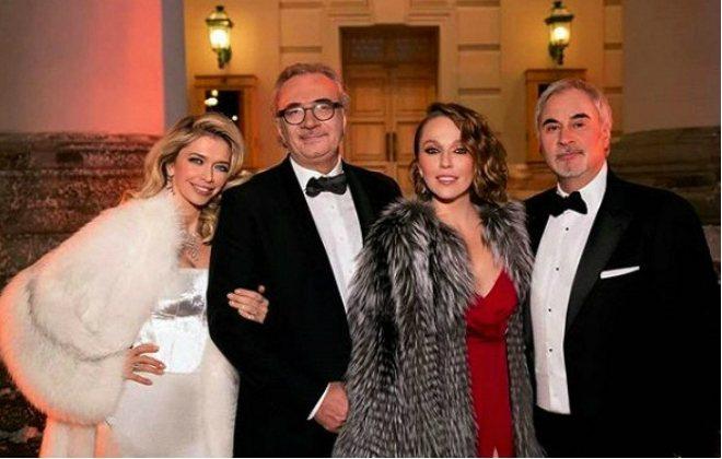 Братья Меладзе с женами