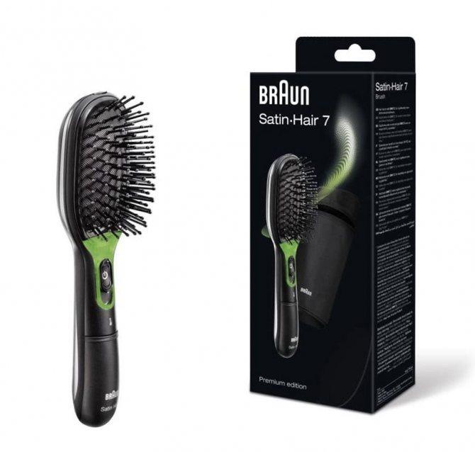 Braun Satin Hair 7 BR750 в черном