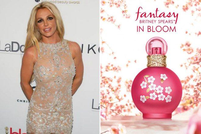 Бритни Спирс и ее парфюм Fantasy In Bloom