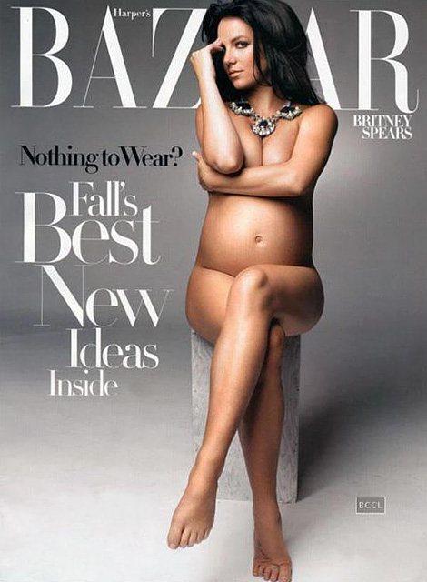 Бритни Спирс на обложке журнала Harpers Bazaar