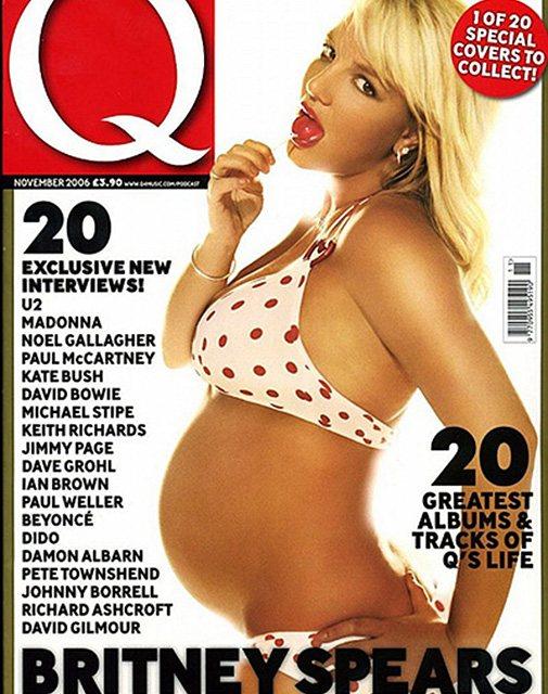 Бритни Спирс на обложке журнала Q Magazine, 2006 год