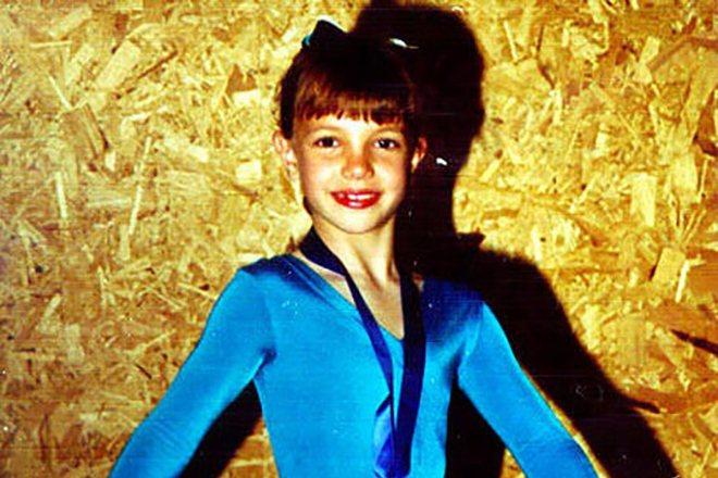 Бритни Спирс занималась гимнастикой