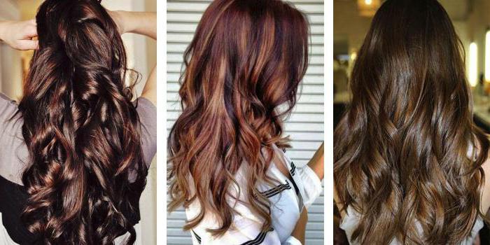 бронзовый цвет волос фото