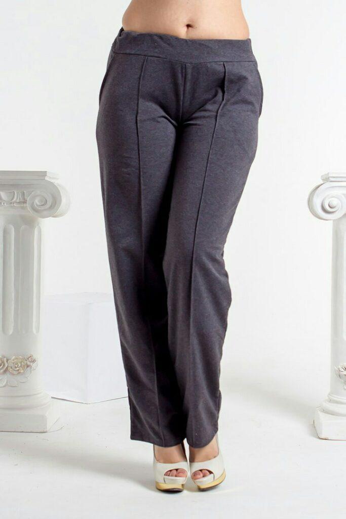 брюки со стрелками для полных девушек