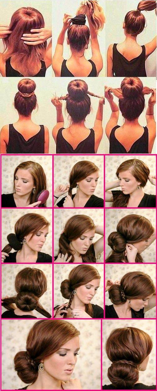 Бублик для волос, как пользоваться?