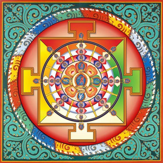 буддийская мандала