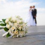 букет невесты - розовые розы