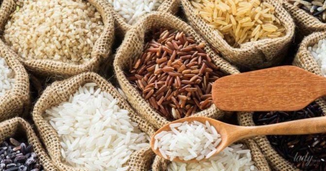 бурый рис и диета