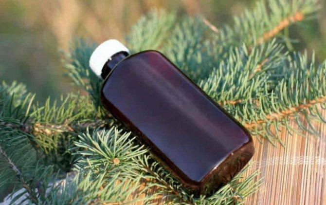 бутылочка со скипидаром