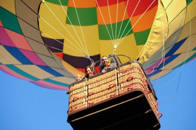 Церемония на воздушном шаре