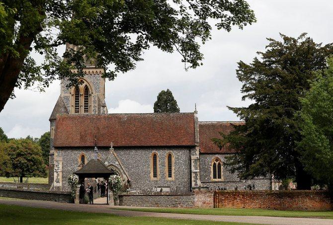 Церковь, в которой прошло венчание Фото: REUTERS