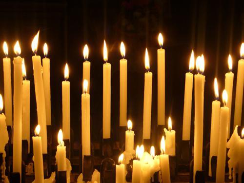 церковная свеча обряды