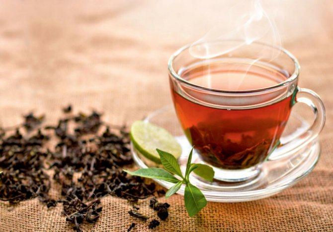 чай при болезни