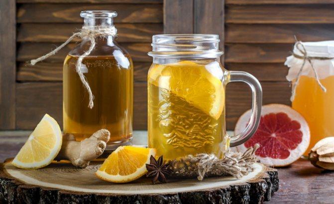 как пить чайный гриб чтобы похудеть