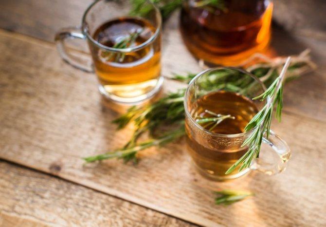чайный гриб с травами