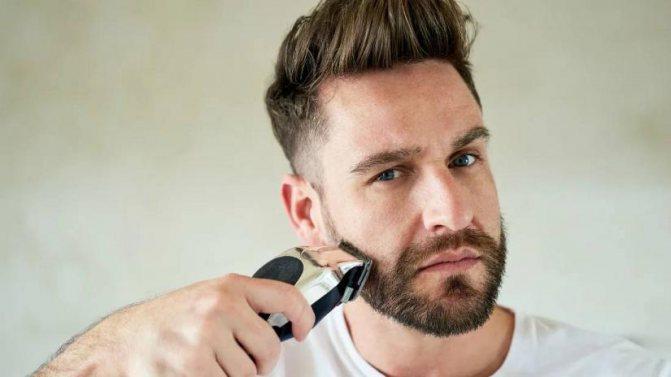 Чем делать окантовку бороды?