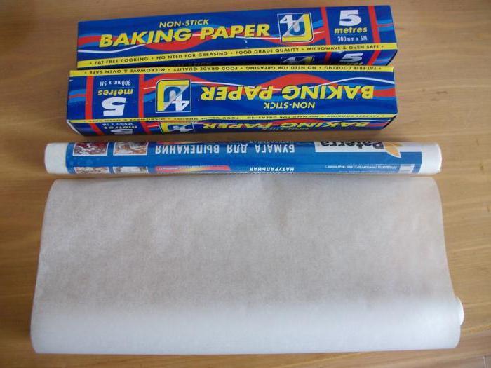чем можно заменить пергаментную бумагу при выпечке