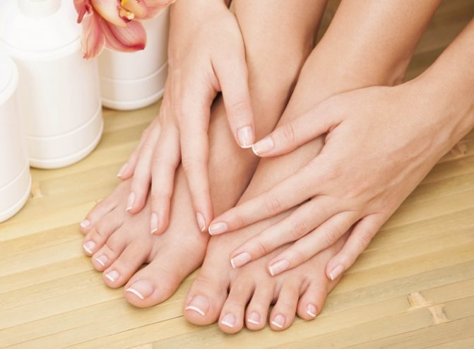 Чем различаются ногти на ногах и руках