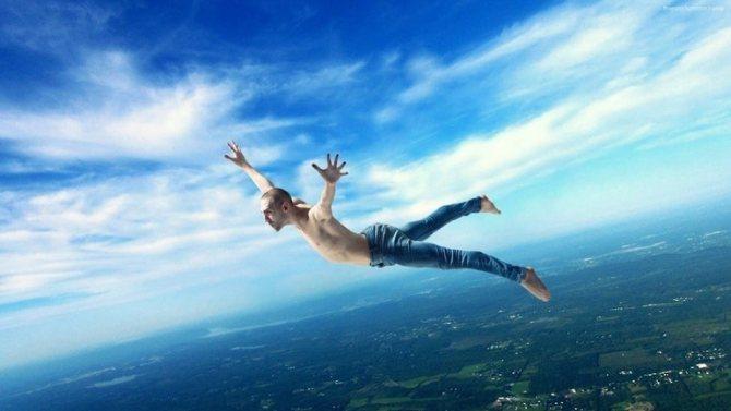 Чем выше спящий летал над землей во сне