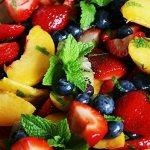 чем заправить фруктовый салат