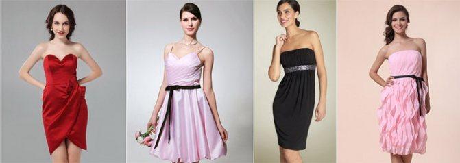 Черное платье для дружки