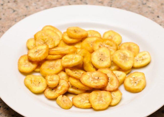 чипсы из банана