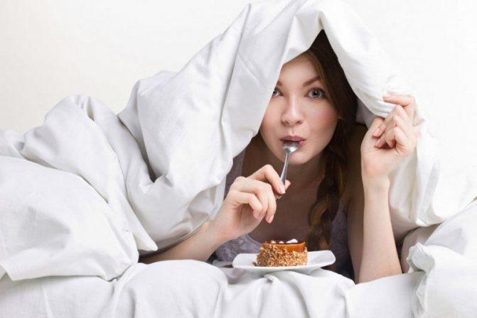 что делать если хочется кушать ночью