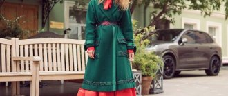 Что должно быть длиннее: платье или пальто