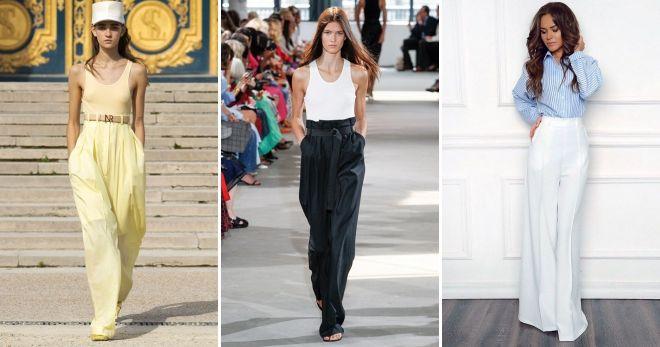 Что модно этим летом брюки