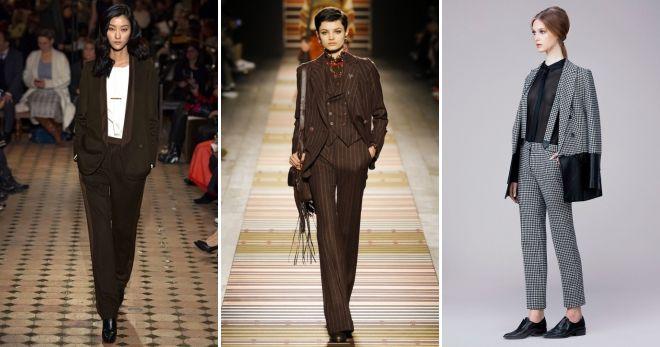 Что модно этой осенью костюм