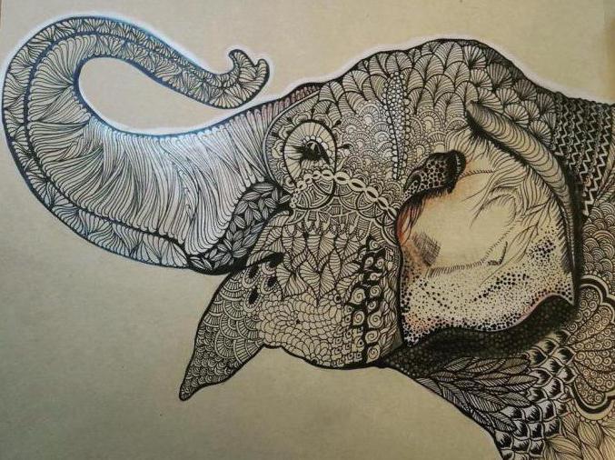 что означает символ слона с поднятым хоботом