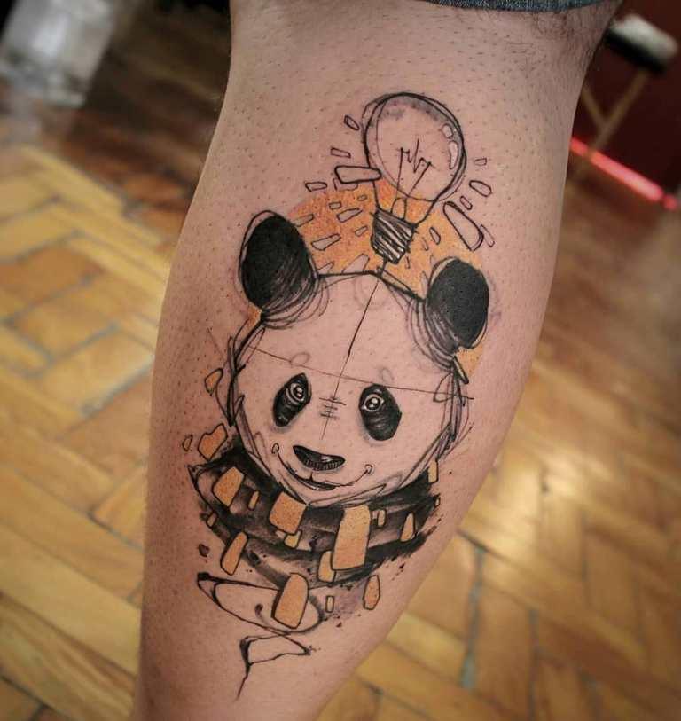 что означает татуировка медведя