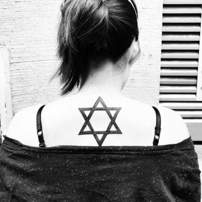 что означает татуировка звезда