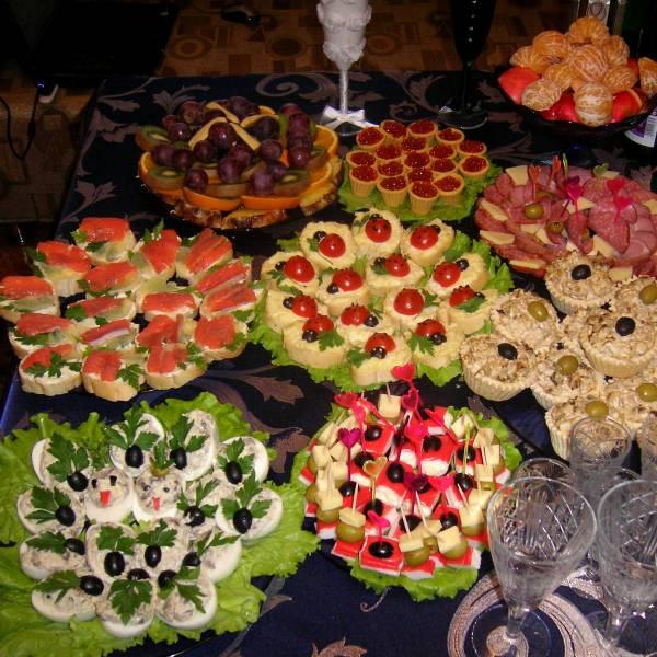 что приготовить на свадебный стол дома