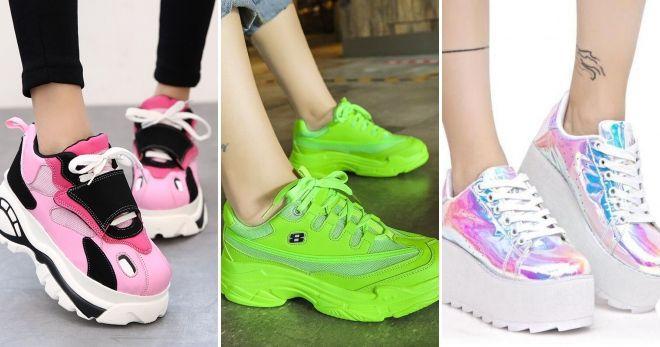 Что сейчас модно из обуви кроссовки