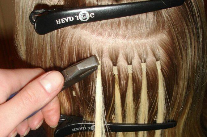 что такое капсульное наращивание волос