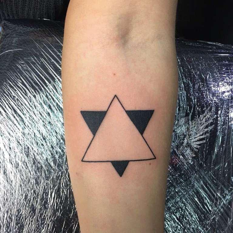 что значит татуировка треугольник