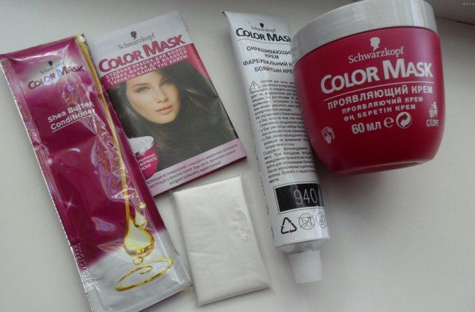 Color Mask от Schwarzkopf — крем-краска для волос