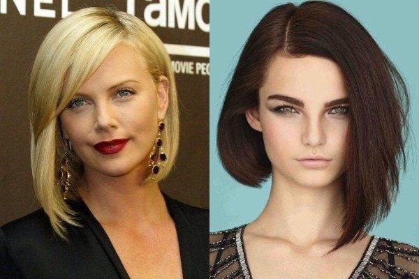 Cтрижка боб на средние волосы – варианты, новинки 2020, фото, вид спереди и сзади